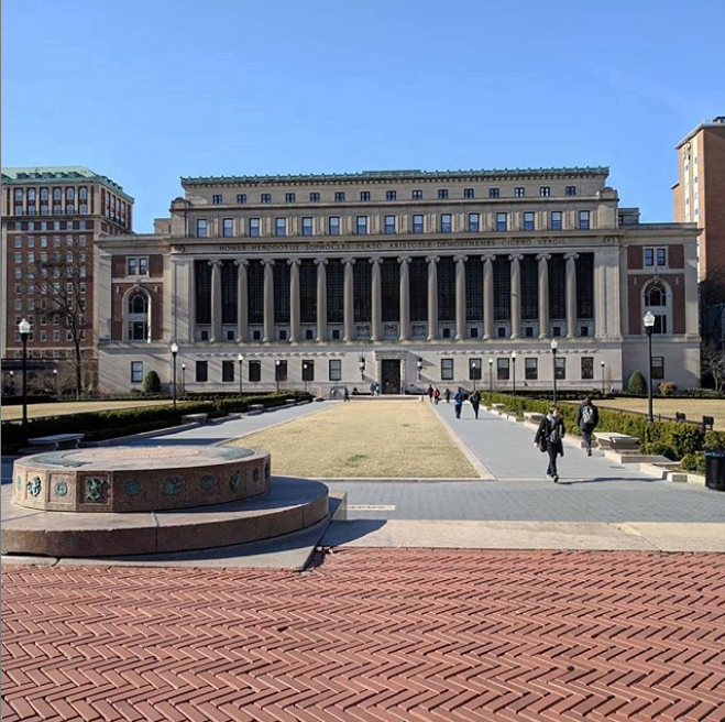 Picture of Columbia University Library
